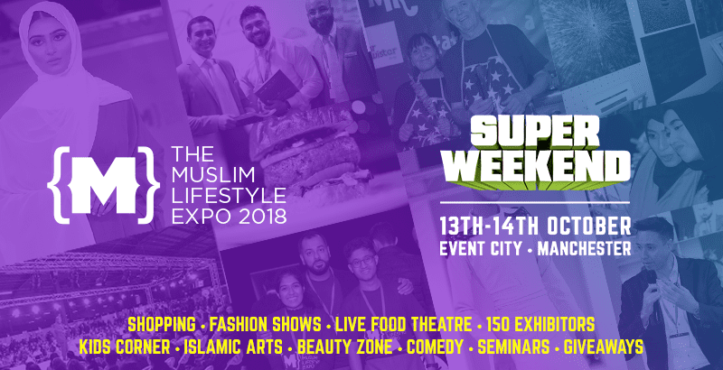 We will be at Muslim Lifestyle Expo 2018