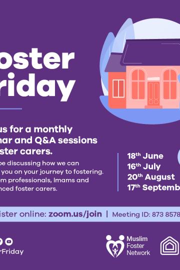 Foster Friday – September 2019