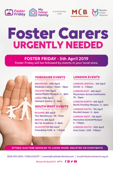 Foster Carers Urgently Needed – London South Seminar
