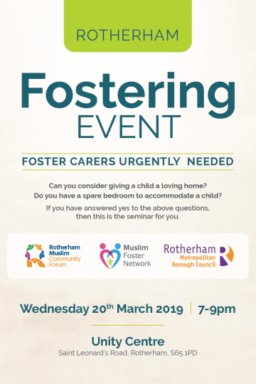 Foster Carers Urgently Needed – Rotherham Seminar